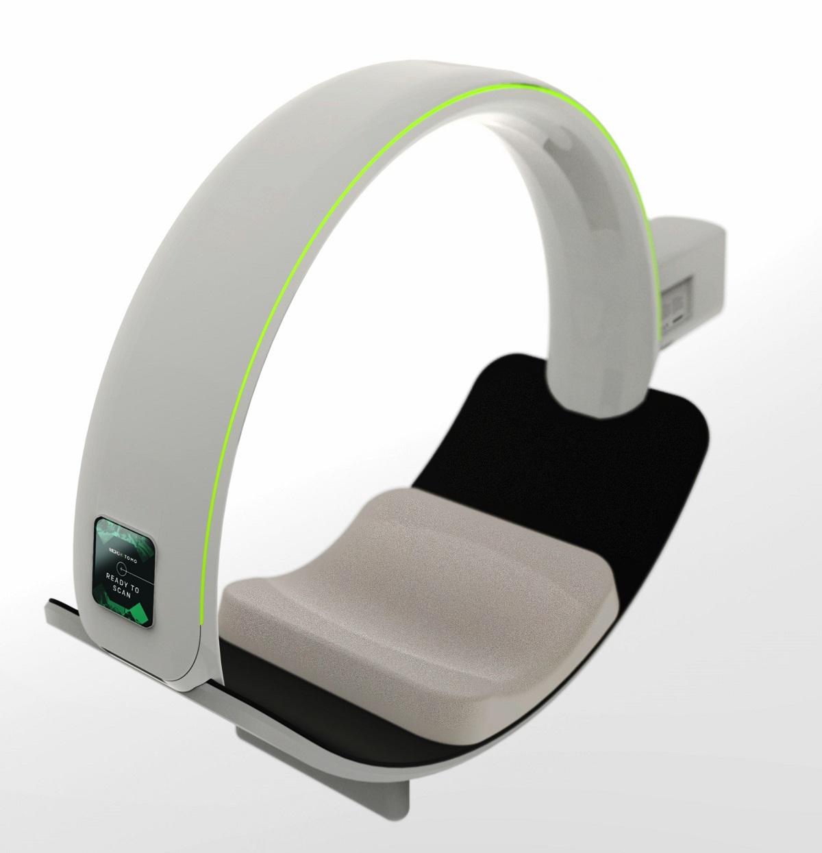 Micro-X CT Brain Scanner
